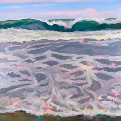 Ocean odyssey 2016 oil 60x60